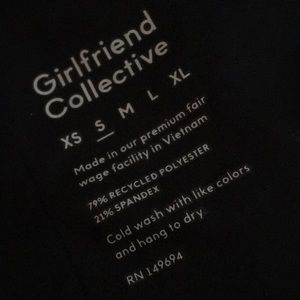 Girlfriend collective leggings NWOT
